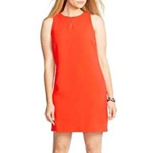 Ralph Lauren Women's Shift Dress Red Size 14
